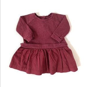 Baby GAP Baby Girl Wine Dress